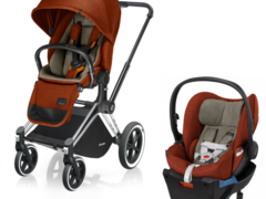 Cybex priam stroller și cloud q plus travel system